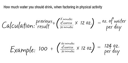 water-exercise-calculation